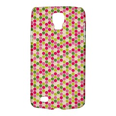 Pink Green Beehive Pattern Samsung Galaxy S4 Active (I9295) Hardshell Case