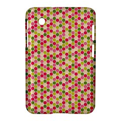 Pink Green Beehive Pattern Samsung Galaxy Tab 2 (7 ) P3100 Hardshell Case