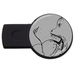 Heartlicker 2gb Usb Flash Drive (round)