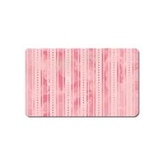 Pink Grunge Magnet (Name Card)
