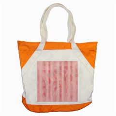 Pink Grunge Accent Tote Bag