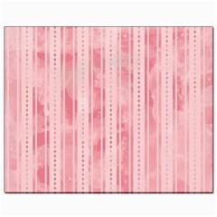 Pink Grunge Canvas 8  x 10  (Unframed)