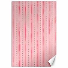 Pink Grunge Canvas 12  X 18  (unframed)