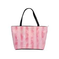 Pink Grunge Large Shoulder Bag