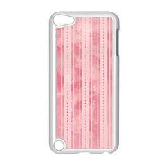 Pink Grunge Apple iPod Touch 5 Case (White)