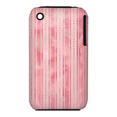 Pink Grunge Apple iPhone 3G/3GS Hardshell Case (PC+Silicone)