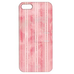 Pink Grunge Apple Iphone 5 Hardshell Case With Stand