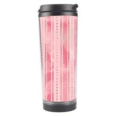 Pink Grunge Travel Tumbler