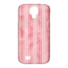 Pink Grunge Samsung Galaxy S4 Classic Hardshell Case (PC+Silicone)