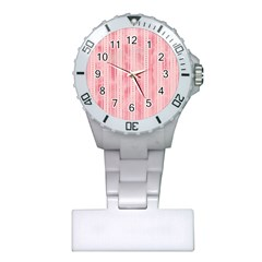 Pink Grunge Nurses Watch