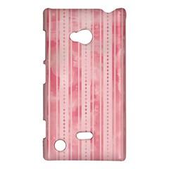 Pink Grunge Nokia Lumia 720 Hardshell Case