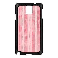 Pink Grunge Samsung Galaxy Note 3 N9005 Case (black)