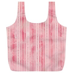 Pink Grunge Reusable Bag (XL)