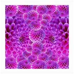 Purple Dahlias Glasses Cloth (Medium)