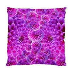 Purple Dahlias Cushion Case (single Sided)
