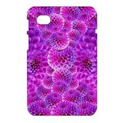 Purple Dahlias Samsung Galaxy Tab 7  P1000 Hardshell Case