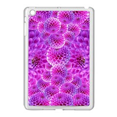 Purple Dahlias Apple Ipad Mini Case (white)