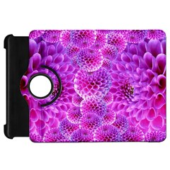 Purple Dahlias Kindle Fire HD 7  (1st Gen) Flip 360 Case