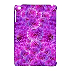 Purple Dahlias Apple iPad Mini Hardshell Case (Compatible with Smart Cover)