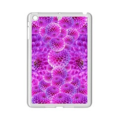 Purple Dahlias Apple iPad Mini 2 Case (White)