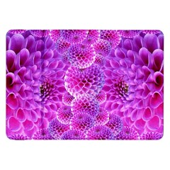 Purple Dahlias Samsung Galaxy Tab 8.9  P7300 Flip Case