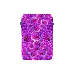 Purple Dahlias Apple Ipad Mini Protective Sleeve