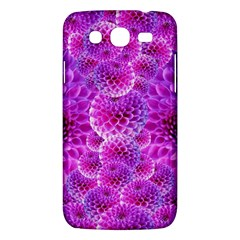 Purple Dahlias Samsung Galaxy Mega 5 8 I9152 Hardshell Case