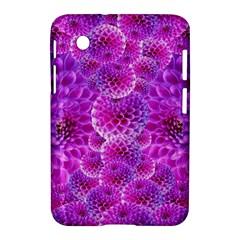 Purple Dahlias Samsung Galaxy Tab 2 (7 ) P3100 Hardshell Case