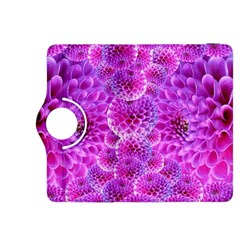 Purple Dahlias Kindle Fire Hdx 8 9  Flip 360 Case
