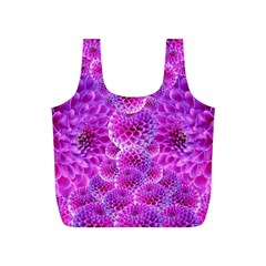 Purple Dahlias Reusable Bag (s)