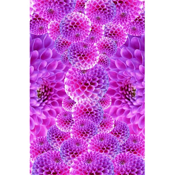 Purple Dahlias Notebook