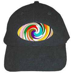 Galaxi Black Baseball Cap