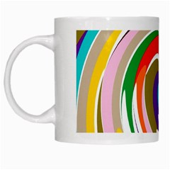 Galaxi White Coffee Mug