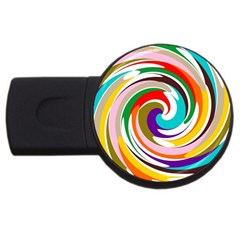 GALAXI 2GB USB Flash Drive (Round)
