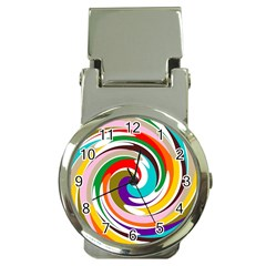 Galaxi Money Clip With Watch