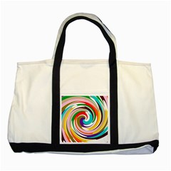 GALAXI Two Toned Tote Bag