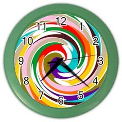 Galaxi Wall Clock (color)