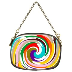 Galaxi Chain Purse (two Sided)