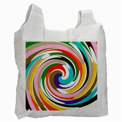 Galaxi White Reusable Bag (one Side)