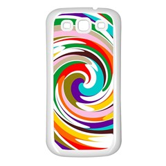 GALAXI Samsung Galaxy S3 Back Case (White)