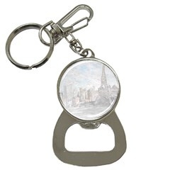 Eiffel Tower Paris Bottle Opener Key Chain