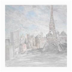 Eiffel Tower Paris Glasses Cloth (Medium)