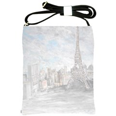 Eiffel Tower Paris Shoulder Sling Bag