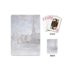 Eiffel Tower Paris Playing Cards (mini)