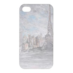 Eiffel Tower Paris Apple Iphone 4/4s Hardshell Case