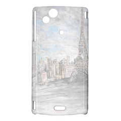 Eiffel Tower Paris Sony Xperia Arc Hardshell Case