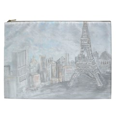 Eiffel Tower Paris Cosmetic Bag (XXL)