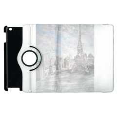 Eiffel Tower Paris Apple iPad 2 Flip 360 Case