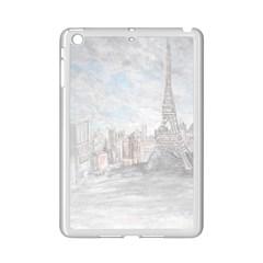 Eiffel Tower Paris Apple iPad Mini 2 Case (White)