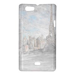 Eiffel Tower Paris Sony Xperia Miro Hardshell Case